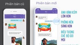 So sánh phiên bản mới của Viber