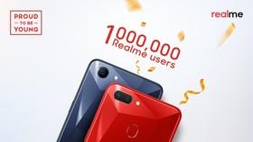 Realme cán mốc 1 triệu người dùng tại Ấn Độ