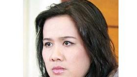 Nhà văn Nguyễn Thị Thu Huệ
