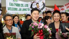 Nhà vô địch Jin Jong Oh hào hứng truyền ngọn lửa  đam mê đến Việt Nam