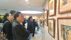 Triển lãm hơn 60 tác phẩm của họa sĩ Nguyễn Thụ