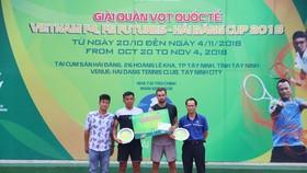 Lý Hoàng Nam đang có cơ hội đặng quang giải quần vợt Men's Futures.