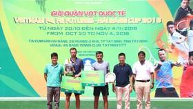 Lý Hoàng Nam vẫn chưa thể vô địch giải Men's Futures 25.000 USD.