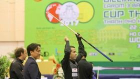 Trần Quyết Chiến là niềm hy vọng của Billiards 3 băng Việt Nam.