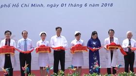 Khánh thành Bệnh viện Nhi đồng Thành phố