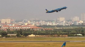 A runway, a terminal and an airplane parking and technical maintenance area will be added to the Tan Son Nhat Airport in HCM City (Photo: VNA)