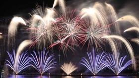 Firework performance by Italian team