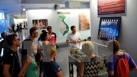 Visitors to the War Remnants Museum in HCM City (Photo: VNA)