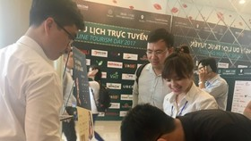 Online Tourism Day 2017 is held in Ho Chi Minh City. (Photo: Sggp)