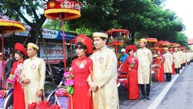 Thua Thien-Hue Province hosts mass wedding of worker couples