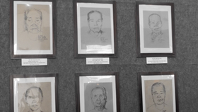 Vinh Long displays portrait of Vietnamese Heroic Mothers