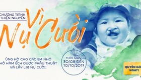 Program to raise money for children with cleft lip and/or palate