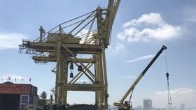 Tien Sa wharf of Da Nang port in the central city of Da Nang city (Photo: VNA)