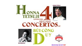 Violinist Bui Cong Duy gives concerts in Hanoi