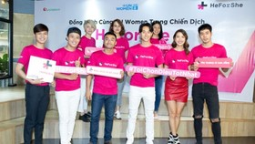 """""""HeForShe"""" campaign launched in HCM City"""