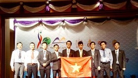 Vietnam wins two silvers at int'l astronomy Olympiad in Thailand. (Photo: anninhthudo.vn)