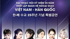 Concert marks 25th anniversary of Vietnam-Korea diplomatic relations