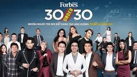"""Forbes Vietnam magazine announced the """"30 Under 30"""" list (Photo:  forbesvietnam.com.vn)"""