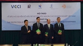 A seminar on the protection of intellectual rights overseas for Vietnamese enterprises organised by the World Intellectual Property Organisation (WIPO) in HCM City (Photo VNA)