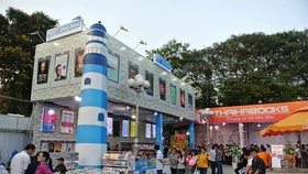 The 10th Ho Chi Minh City Book Festival is held at the Le Van Tam Park in District 1 . (Photo: Sggp)