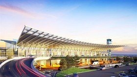A design mock up of Van Don International Airport