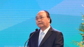 Prime Minister Nguyen Xuan Phuc addresses the event (Photo: VNA)