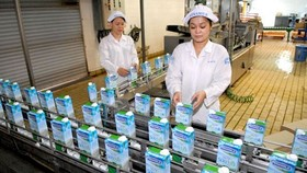Vietnam's leading dairy company Vinamilk is the most chosen consumer brand in Vietnam for four consecutive years (Photo: VNA)