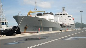 Tanker Pechenga arrives in Cam Ranh International Port (Source: soha.vn)