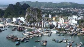 A view of Cai Bau island, a central island of Van Don (Photo: VNA)