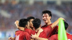 Vietnam's U23 team won the U23 International Football Championship – Vinaphone Cup 2018 which concluded at My Dinh National Stadium in Hanoi on August 7. (Source: VNA)