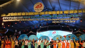 At the opening ceremony (Photo: Sggp)