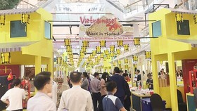 Vietnamese Goods and Tourism Week 2018 opens in Thailand. (Photo: Sggp)