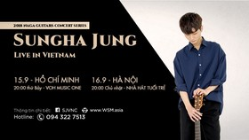 Korean guitarist Sungha Jung returns Vietnam