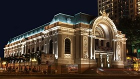 Opera House in Ho Chi Minh City (Source: VNA)