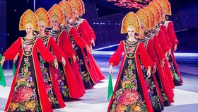 Russian popular dance theater, Gzhel performs in HCMC