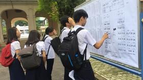TPHCM: Căng thẳng tỉ lệ chọi kỳ thi tuyển sinh lớp 10 công lập năm học 2018-2019