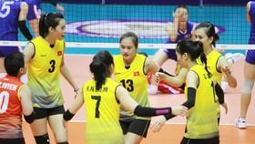 Đội tuyển bóng chuyền nữ Việt Nam hứng chịu thất bại liên tiếp. Ảnh: SMMTV
