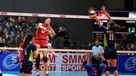 Chủ công Trần Thị Thanh Thúy (3) từng giúp U23 Việt Nam vượt qua Đài Bắc - Trung Hoa để giành hạng 3 giải năm 2017.
