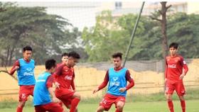 Lịch thi đấu của V-League 2019 sẽ được điều chỉnh vì mục tiêu HCV SEA Games của đội tuyển U.22+2 Việt Nam. Ảnh: MINH HOÀNG