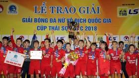 Đội Hà Nam vô địch quốc gia 2018. Ảnh: ANH TRẦN