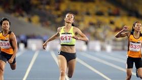 VĐV Lê Tú Chinh đang nỗ lực tìm lại cảm hứng chiến thắng.