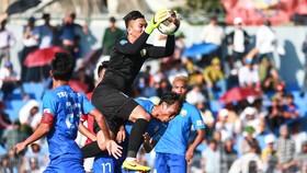 An Giang bất ngờ giành 3 điểm trên sân Hà Tĩnh. Ảnh: MINH HOÀNG