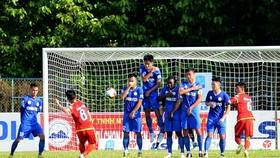 Bình Định đã giành trọn 3 điểm trên sân Tây Ninh ở lượt đi. Ảnh: THANH THỌ