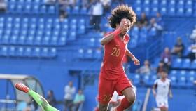 Indonesia khẳng định sự vượt trội trước Brunei. Ảnh: NGUYỄN NHÂN