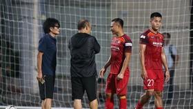 Trọng Hoàng bình phục chấn thương là tín hiệu vui cho ông Park. Ảnh: MINH HOÀNG