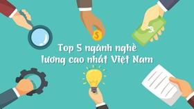 Top 5 ngành nghề lương cao nhất Việt Nam