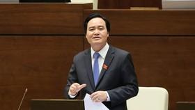Bộ trưởng Bộ GD-ĐT trình luật Giáo dục sửa đổi