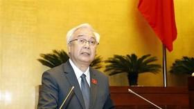 Chủ nhiệm Ủy ban Văn hoá, Giáo dục, Thanh niên, Thiếu niên và Nhi đồng của Quốc hội Phan Thanh Bình