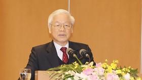 Đồng chí Nguyễn Phú Trọng: Kiên quyết đấu tranh loại bỏ những người tham nhũng, hư hỏng  