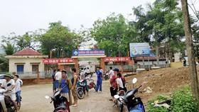 Trường Tiểu học Đồng Lương - nơi xảy ra vụ việc
